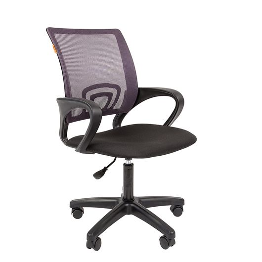 Кресло оператора Chairman 696 LT сетка/ткань серый/черный
