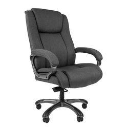 Кресло руководителя CHAIRMAN 410 ткань серая