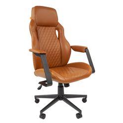 Кресло руководителя Chairman 720 экопремиум коричневый