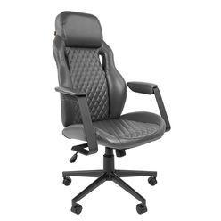Кресло руководителя Chairman 720 экопремиум серый