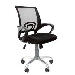 Кресло оператора CHAIRMAN 696 Silver сетка/ткань черное