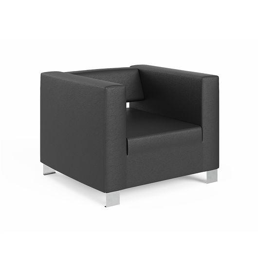 Кресло для отдыха Chairman ГРИН Euroline черный