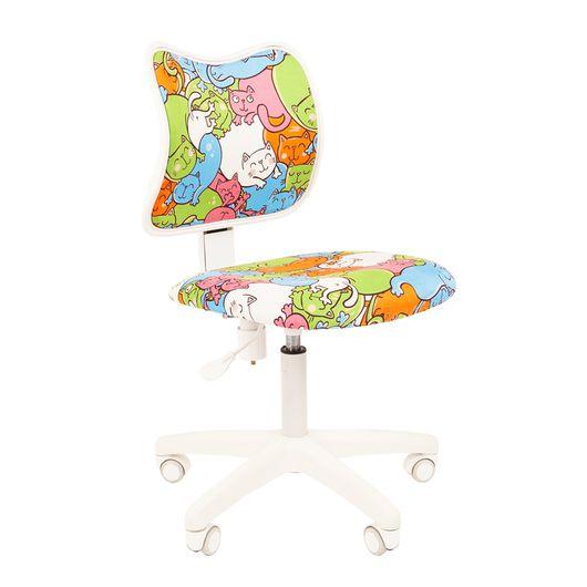 Кресло детское Chairman KIDS 102 ткань котики