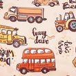 Кресло детское Chairman KIDS 103 ткань автобусы
