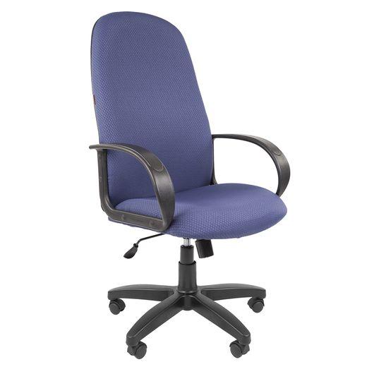 Кресло руководителя Chairman 279 ткань V398-87 синий
