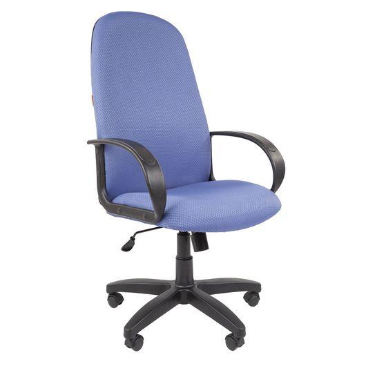 Кресло руководителя Chairman 279 ткань V398-85 голубой