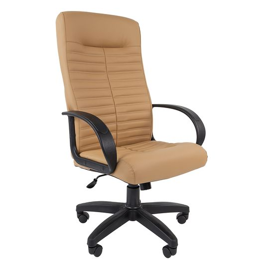 Кресло руководителя Chairman 480 LT экокожа бежевый