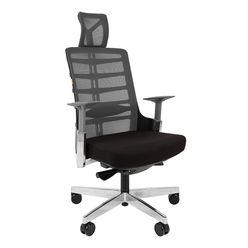 Кресло руководителя Chairman SPINELLY сетка/полиэстер черный