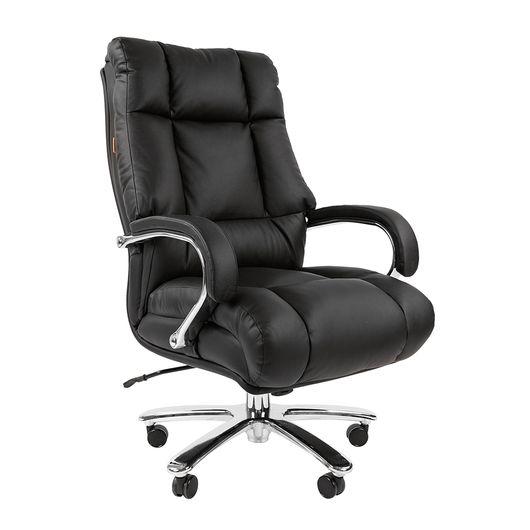 Кресло руководителя Chairman 405 кожа черный
