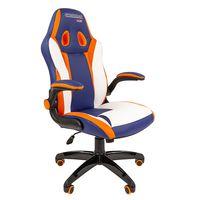 Кресло геймерское Chairman GAME 15 экокожа разноцветный