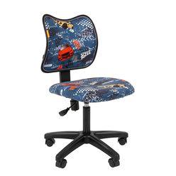 Кресло детское Chairman KIDS 102 black ткань машинки