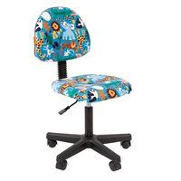 Кресло детское Chairman KIDS 104 black ткань зоопарк