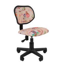 Кресло детское Chairman KIDS 106 black ткань принцессы