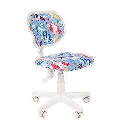 Кресло детское Chairman KIDS 106 ткань единороги