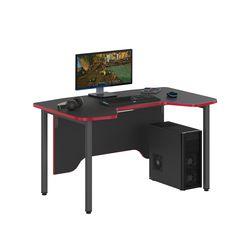 Стол компьютерный Skyland SKILLL SSTG 1385 антрацит/красный