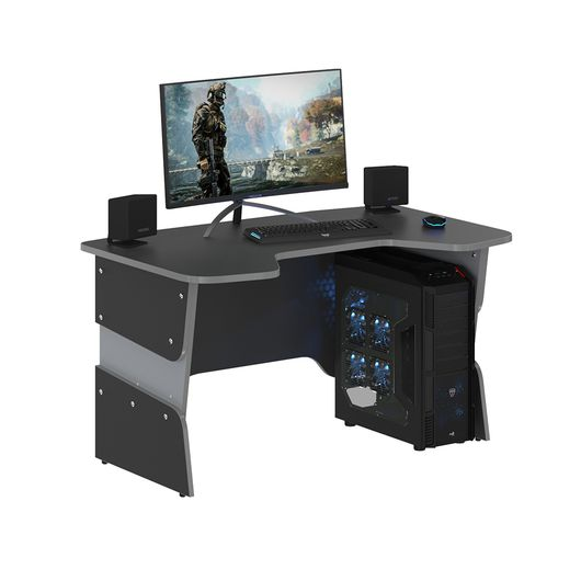 Стол компьютерный Skyland SKILLL STG 1385 антрацит/металлик