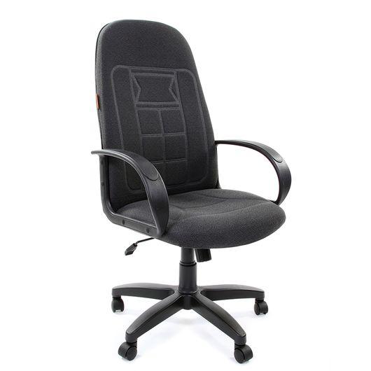Кресло руководителя Chairman 727 ткань 15-13 серый