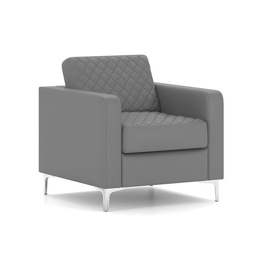 Кресло для отдыха Chairman АКТИВ Euroline серый