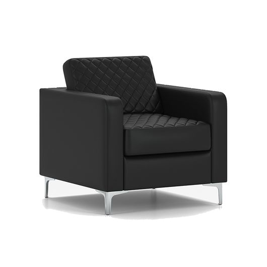 Кресло для отдыха Chairman АКТИВ Euroline черный
