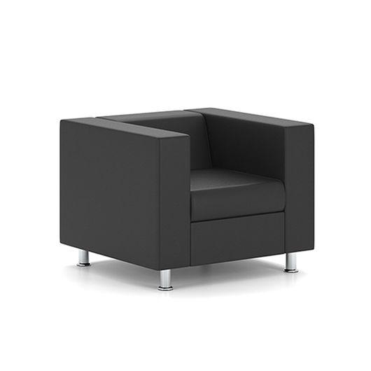 Кресло для отдыха Chairman АЛЕКТО Euroline черный
