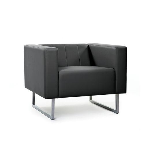 Кресло для отдыха Chairman ВЕНТА Euroline черный