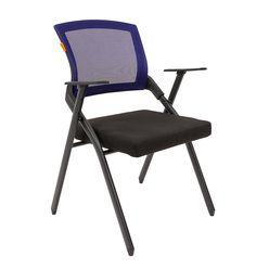 Кресло посетителя Chairman NEXX сетка/ткань синий/черный