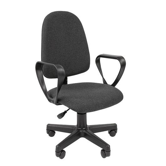 Кресло оператора Стандарт Престиж ткань C-2 серый