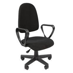 Кресло оператора Стандарт Престиж ткань C-3 черный