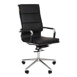 Кресло руководителя Chairman 750 экокожа черный
