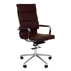 Кресло руководителя Chairman 750 экокожа коричневый