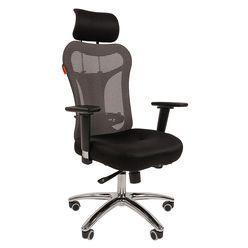 Кресло руководителя Chairman 769 сетка/ткань TW-11 черный